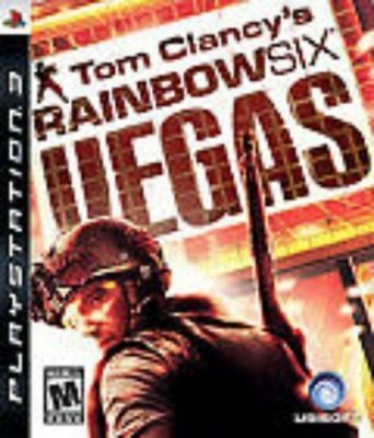 Tom Clancy's Rainbow Six: Vegas GAME (Sony Playstation 3) PS PS3