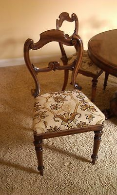 Antique English Dining Chairs/7
