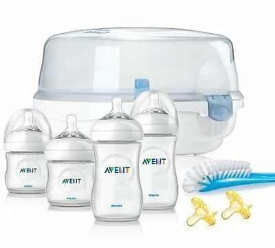 NEW Philips Avent BPA Free Natural Essentials Gift Set FREE SHIPPING