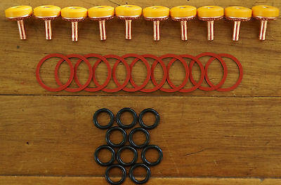 30 Piece Tap Washer Kit Delaware Soft Turn Jumper Valves O Rings EC Body Washers