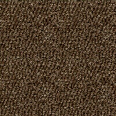 22 Select Contract CARPET TILES Teak Brown Heavy Duty Hard Wearing Commercial