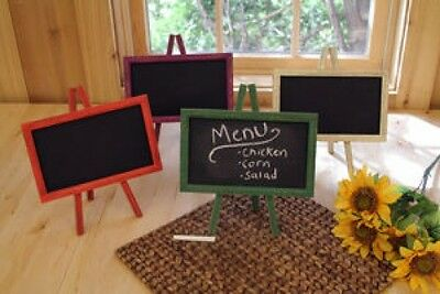 "Green Wood Chalkboard Easel Message Board 11"" x 9.5"""