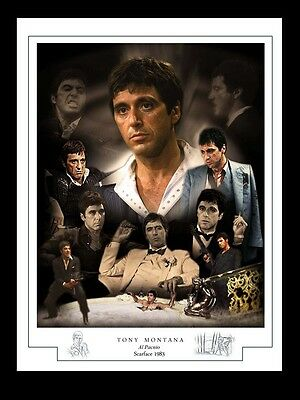 Scarface  Montage Print