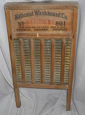 Vintage National Washboard Co. No. 860  Top Notch The Glass King Laundry Machine
