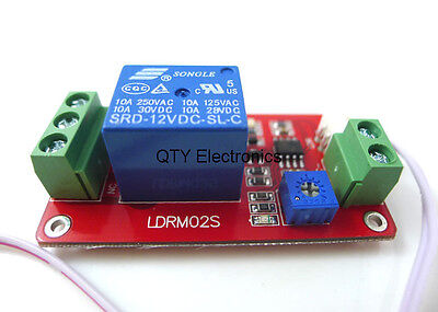 Sensor Module Temperature Switch relays DC 12V  channel Thermal Relay Control