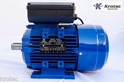 Electric motor single-phase 240v 1.1kw 1.5hp 1400rpm