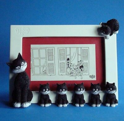 "ALBERT DUBOUT - ""L'alignement - Cats in a row"" Les Chats de Dubout - Fotoframe"