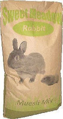 Sweet Meadow Rabbit Food Muesli Mix 20kg FREE NEXT DAY DELIVERY!