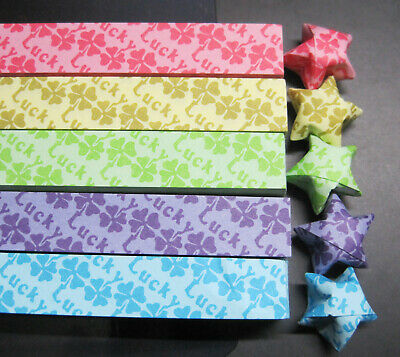 Origami Lucky Star Paper (280 Strips)