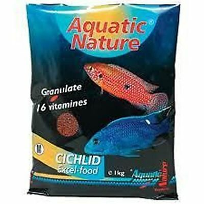 250 g Aquatic Nature African Cichlid Excel Color S (47,80 €/1000 ml)