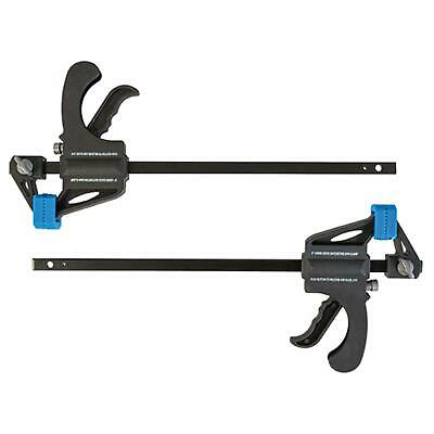 2 PACK x 150mm QUICK RELEASE RATCHET BAR CLAMP LIGHT WEIGHT CLAMPS