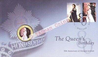 Australia - 2006 - The Queen's 80th Birthday PNC/FDC