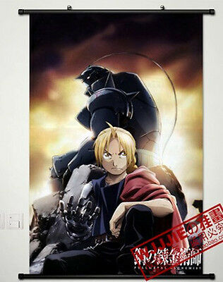 Anime Fullmetal Alchemist Home Decor Poster Wall Scroll 60*90CM GZ037
