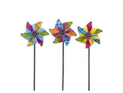 Fairy Garden Mini - Pinwheel Picks Set of 3