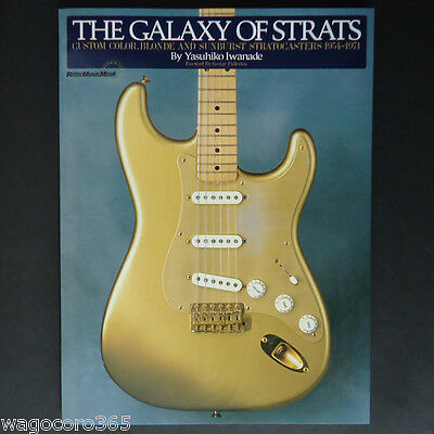 The Galaxy of Strats / Vintage Guitar Photo Book / Stratocaster / Japan New