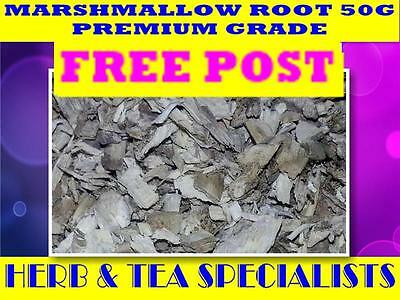 MARSHMALLOW ROOT 50g☆ Althea officinalis ☆ DRIED HERB☆ PREMIUM STOCK☆ FREE POST