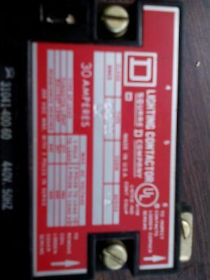 Square D 8903 Smo 11 Lx Lighting Contactor