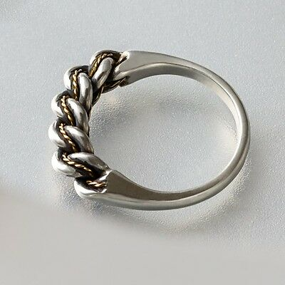 LATVIAN ethnic SILVER and GOLD  NAMEJS RING from LATVIA woman's version  NEW