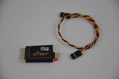 Frsky FLVSS Lipo Voltage upgrade Sensor & Display For 2-Way Telemetry System