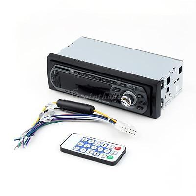 In Dash Fm Receiver Car Audio Stereo Mp3 Player & USB SD Input AUX Receiver DX