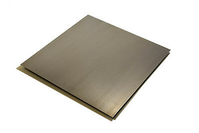 ".048"" x 12"" x 12"" 18 ga Cold Rolled Steel Sheet - A1008 - CR18-12x12"