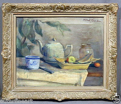 "19th Century ""Still-Life"" Oil Painting signed Zygmund Landau (FRENCH/POLISH)"