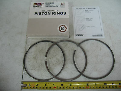 Monotherm Piston Ring Set for Detroit Series 60. PAI P/N 605030 Ref. # 23531252