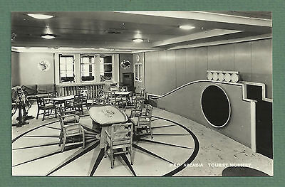 1950's Rp Pc Tourist Nursery On Board P & O Ship Arcadia