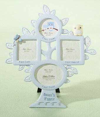 """Brand NEW"" Blue Owl themed 'Babies 1st Year' Photo Frame"