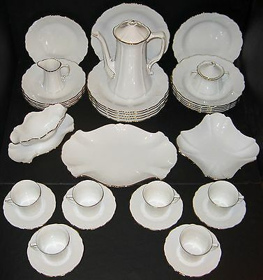 Tirschenreuth China Baronesse Gold 6 Pc Place Setting Service for 6 (2 Sets Avl)