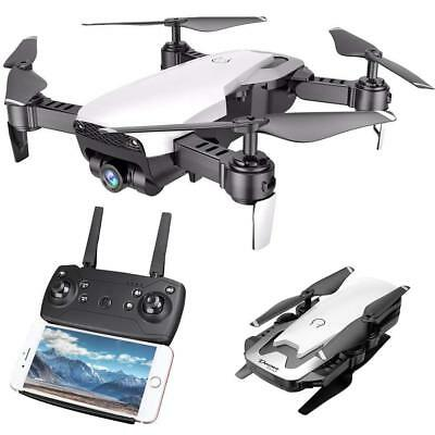 Cooligg Quadcopter Drone With HD Camera 2MP 720P Selfie WiFi FPV Foldable Remote