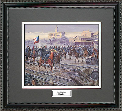 Mort Kunstler ORDER OUT OF CHAOS  Framed Print Civil War Wall Art Gift