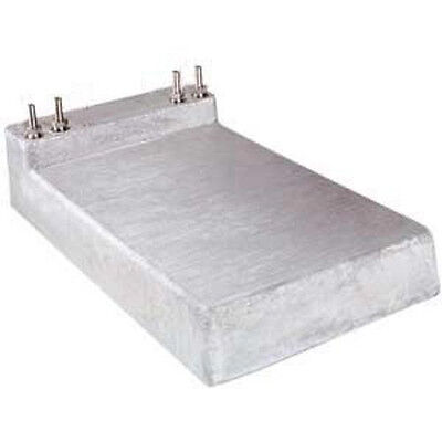 "Great Value Two Beer Jockey Box Cold Plate, with 1/4"" fittings"