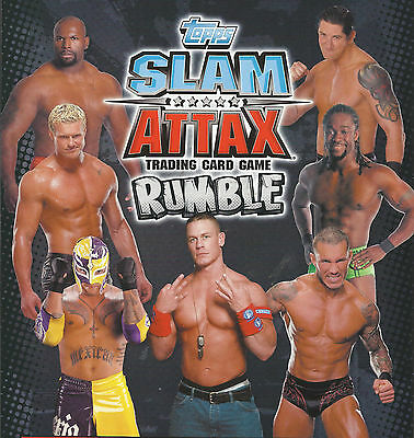 WWE TOPPS RUMBLE SLAM ATTAX TRADING CARD Choose From List