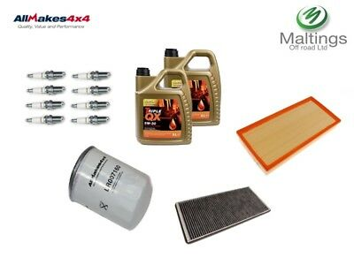range rover supercharged 4.2 service kit l322 4.2 supercharged filter kit 06-12