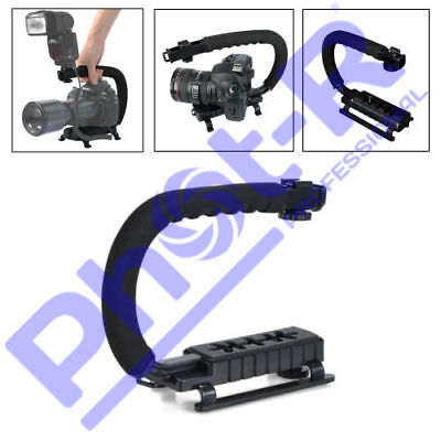 Stabilizer C-Shape Bracket Video Handheld Grip Fit For DV Camcorder Camera DSLR
