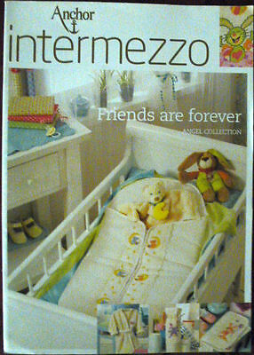 Anchor intermezzo Stickvorlage Friends are forever Angel Collection