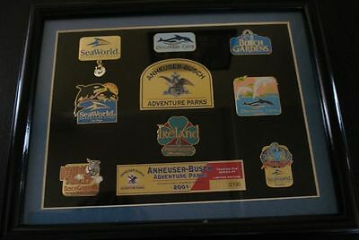ANHEUSER-BUSCH Adventure Parks Trading Pin Set Series #1 Le2100