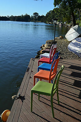 Chairs for SALE - Miami COLOURS  Stackable DESIGNER Inddor & Outdoor  ON SALE