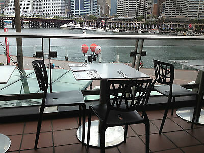 Cafe Dining  Chairs Black - CAFE RESTAURANT FURNITURE - Tables and Chairs