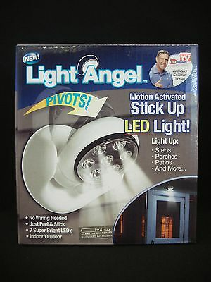 Light Angel Motion Activated Stick Up LED Light White Color (As Seen On TV)
