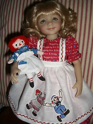 """""""Luv my Raggedy"""" outfit for your Dianna Effner Little Darling"""