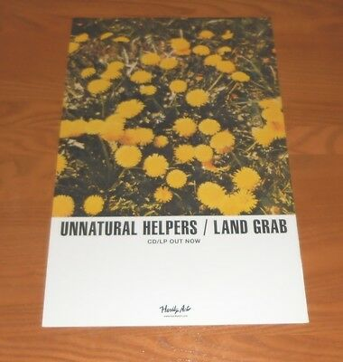 Unnatural Helpers Land Grab Promo Poster 11x17