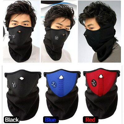 Practical Ski Snowboard Motorcycle Bicycle Winter Sport Face Mask Neck Warmer E