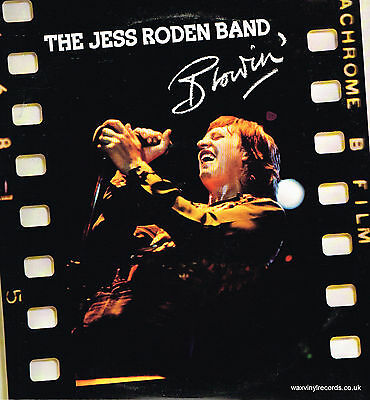 The Jess Roden Band – Blowin' – LP Vinyl Record
