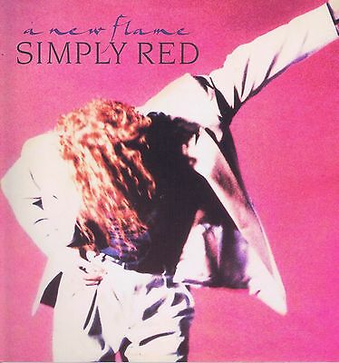 Simply Red – A New Flame – WEA WX242 – LP Vinyl Record