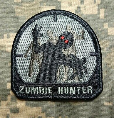 Zombie Hunter Tactical Outbreak Us Army Response Team Isaf Acu Hook Patch
