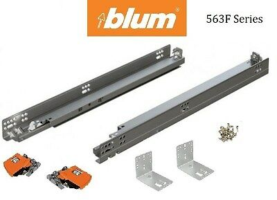563F BLUM Tandem Drawer slides with BLUMOTION (pair) with locking devices