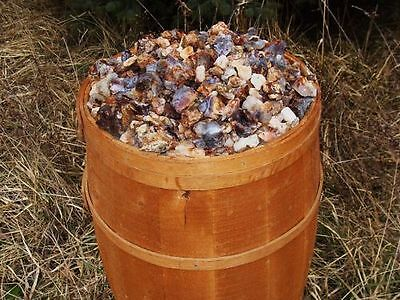 500 Carat Lots of Unsearched Natural Fire Agate Rough + A FREE Faceted gemstone