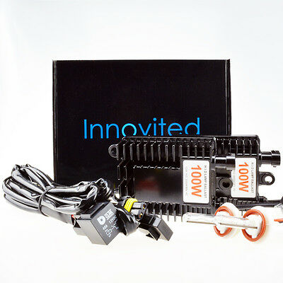 Innovited 100W HID Xenon Conversion Kit H1 H3 H4 H7 H11 H13 9005 9006 6000K